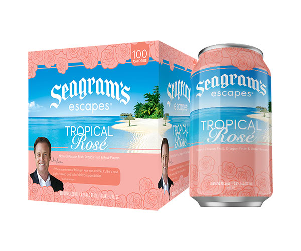 Seagrams Escapes Tropical Rose