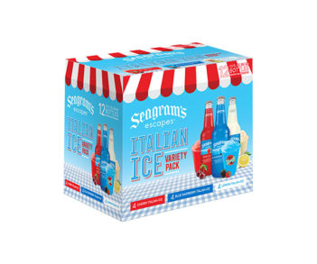 Seagrams Escapes Italian Ice Variety Pack