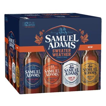 Samuel Adams Sweater Weather Variety Pack